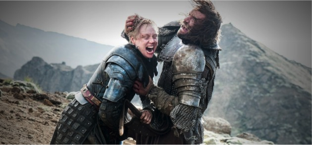 Brienne of Tarth vs Sandor Clegane