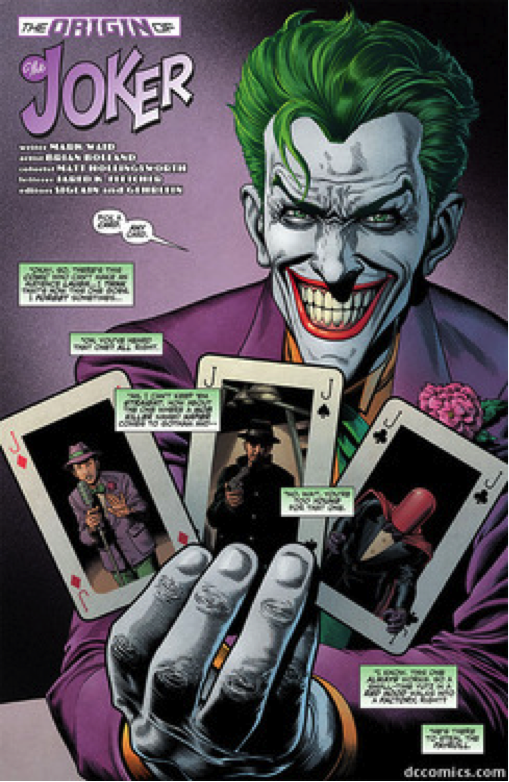 The Origin of the Joker